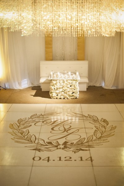 luxury dance floor, nashville wedding designer