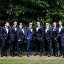 Bridal party, Memphis wedding