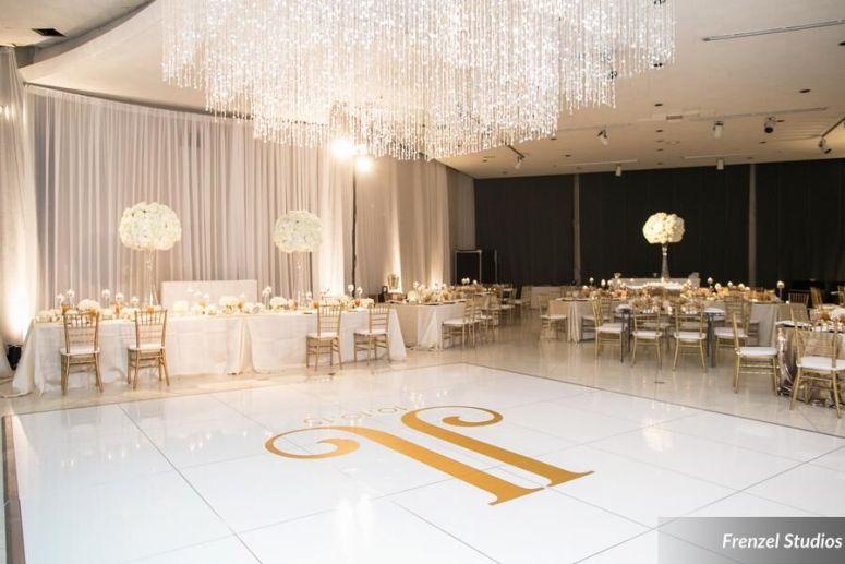 luxury decor, luxury wedding, cheekwood wedding, massey wall