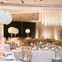 centerpiece, chandelier, table scape