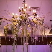 chandelier piece, floating decor, murfreesboro wedding