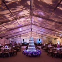 floating cake, memphis wedding planner