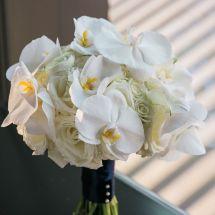 orchid, rose, bouquet, nashville view wedding