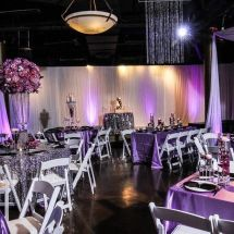 mount juliet wedding planner, purple flowers