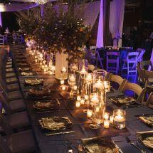 candles, decor, nashville venue