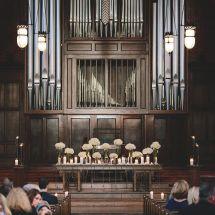 church, ceremony, nashville, scarritt bennett, altar decor