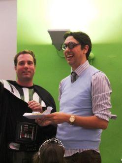 Minty Awards 2012, Elliott King Geek