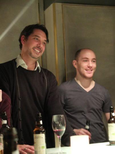 Elliott King and Lee Baillie, Xmas 2012