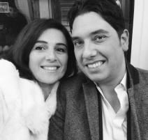Elliott King and Aleksandra King at the Opera, 2013
