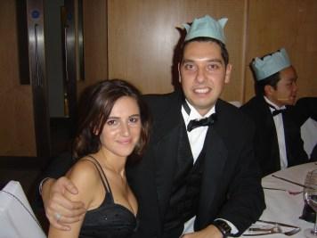 Elliott King and Aleksandra King 2006