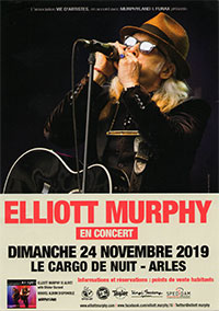 Elliott Murphy - Arles Flier 2019