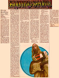 Elliott Murphy - 1973 Rolling Stone Aquashow Review