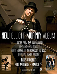 Elliott Murphy - Notes From The Underground Poster