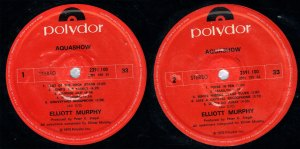 Elliott Murphy - Aquashow - New Zealand Pressing