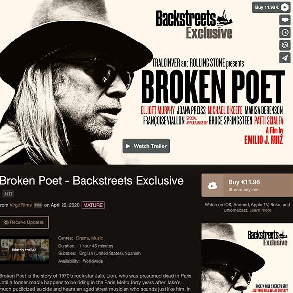 Elliott Murphy - Broken Poet
