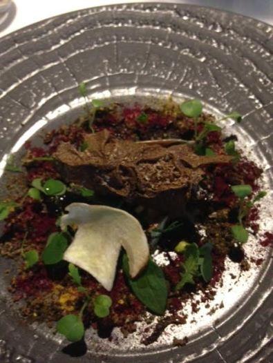 Fat Duck - forrest dish