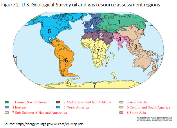 Global Map of Oil & Gas Resources