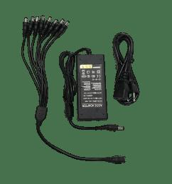 8 way cctv power supply and splitter [ 1008 x 1019 Pixel ]