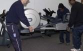 How much does an elliptical Machine weigh