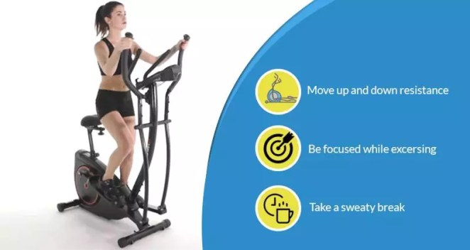 Use of Elliptical Bike for Losing Weight