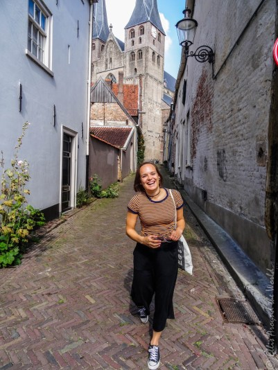 Happy in Deventer.