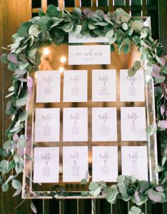 Display your seating chart they can be elegant and traditional or trendy modern dress them up with florals add  fun frame also creative ideas elliston vineyards rh