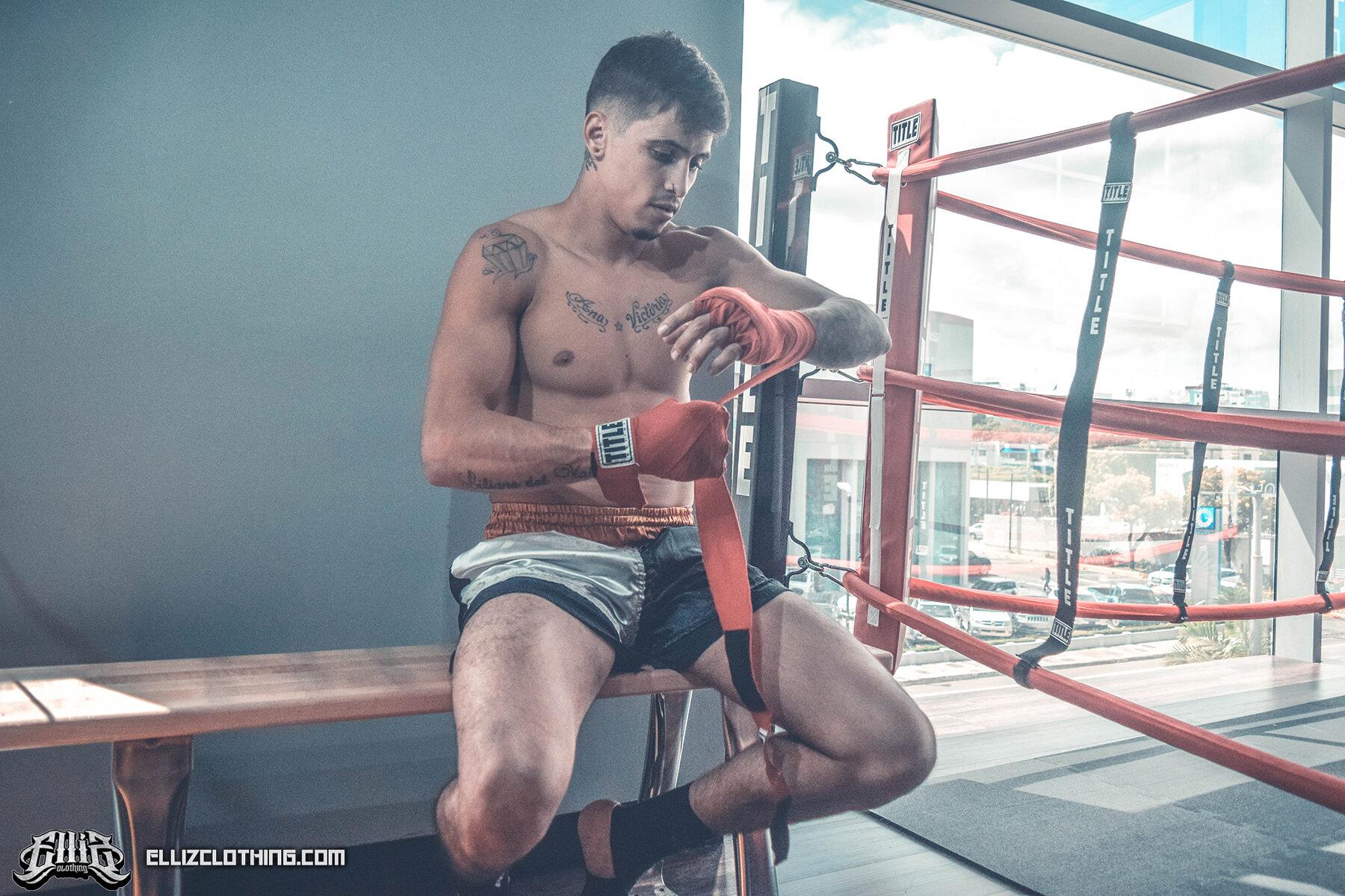 Braian Leiva Elliz Clothing MMA Photoshoot 06