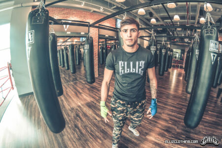 Braian Leiva Elliz Clothing MMA Photoshoot 09