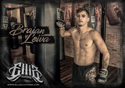 Braian Leiva Elliz Clothing MMA Line 01