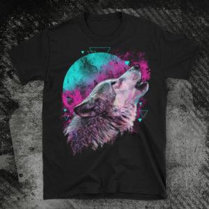 Elliz Clothing Rebirth Wolf emo Tshirt