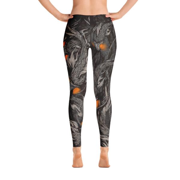 elliz clothing Aquatic bots Graphic Leggings