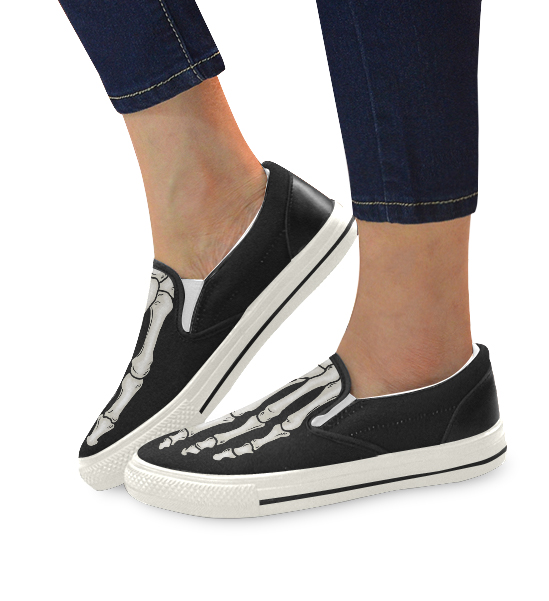 elliz clothing skeleton sneakers skater shoes