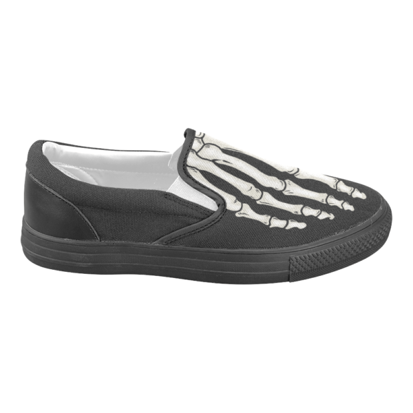 elliz clothing skeleton sneakers slip-on shoes