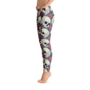 elliz clothing Leggings de Calaveras & Rosas
