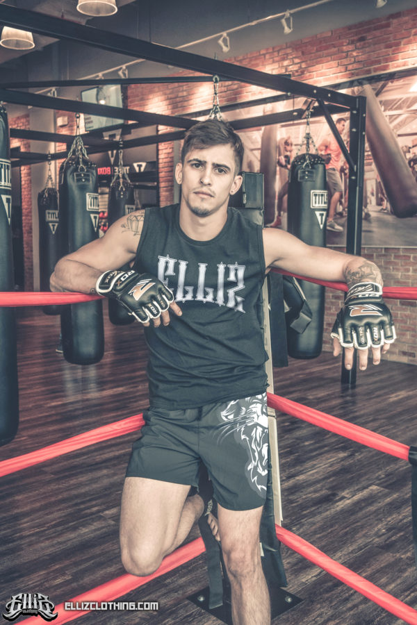 Braian Leiva Elliz Clothing MMA Photoshoot
