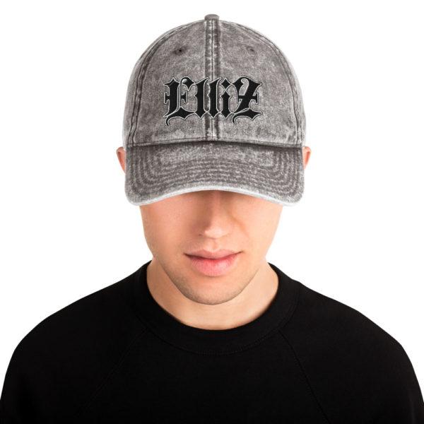 ElVintage Cotton Twill Cap