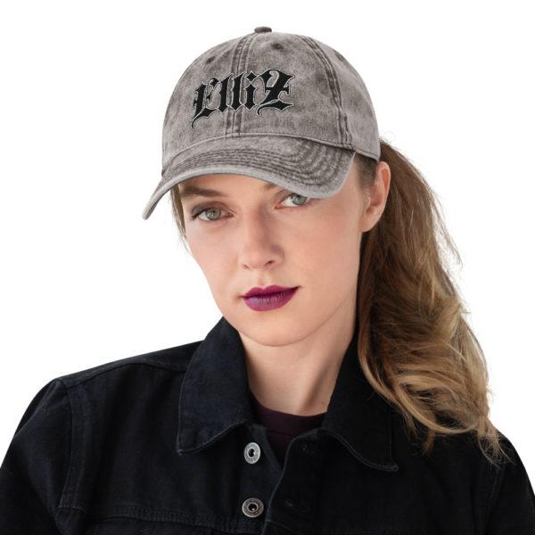 Elliz Clothing Vintage Cotton Twill Cap
