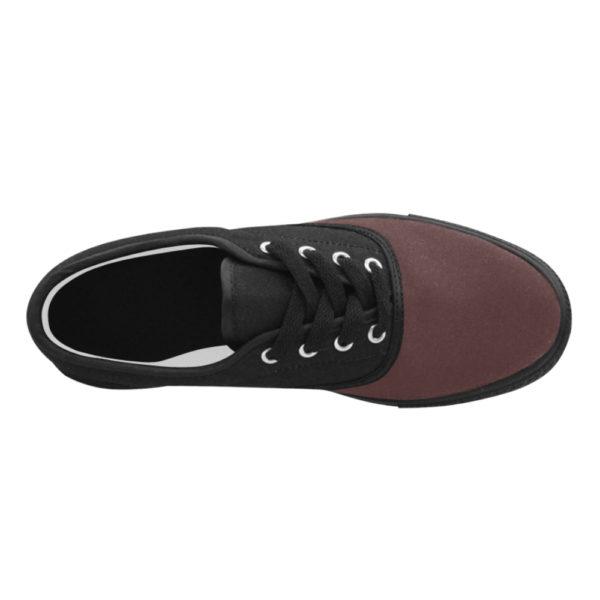Aries Burgundy Mens Canvas Shoes