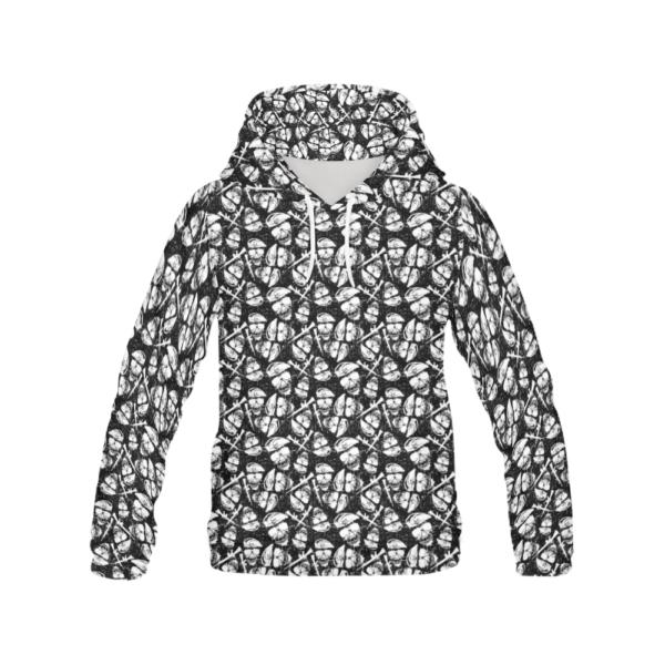 Elliz Clothing Army Skulls Pattern Hoodie