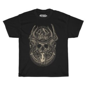 Elliz Clothing Samurai Warrior Skull T-shirt
