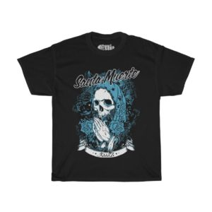 Elliz Clothing Santa Muerte t-shirt Black