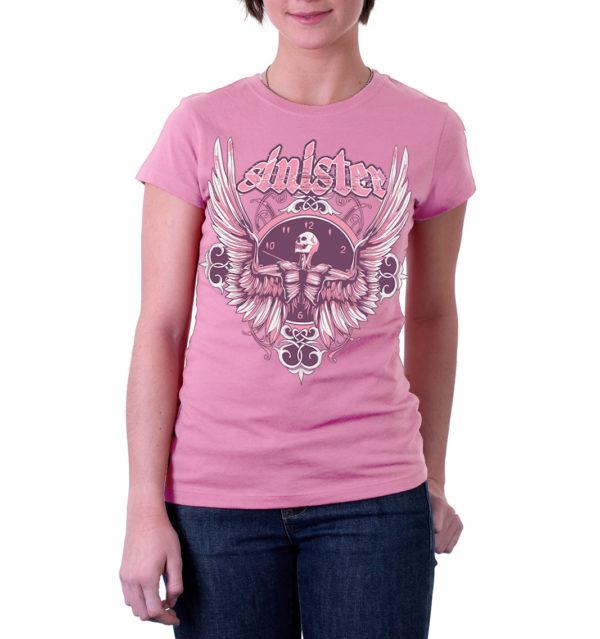 Elliz Clothing Sinister Slim Fit Skeleton Tshirt