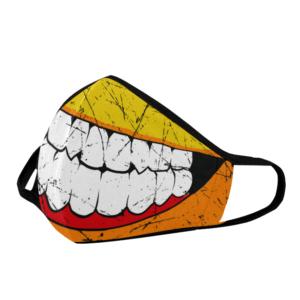 Elliz Clothing Máscara facial cirúrgica de Sorriso de Desenho Animado