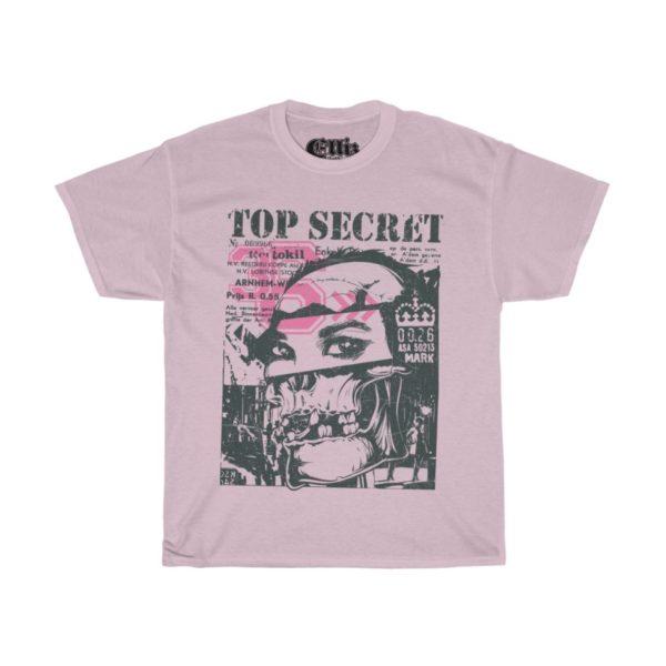 Elliz Clothing Women's Top Secret Skull Girl T-shirt
