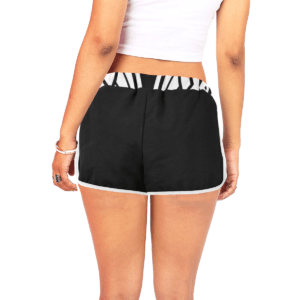 Elliz Clothing Womens Skull Mandala Relaxed Shorts