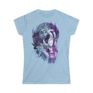 Elliz Clothing Chamán Camiseta Softstyle para mujer Azul