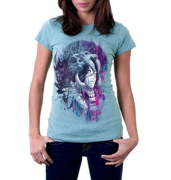 Elliz Clothing Women's iridescent Shaman Softstyle t-shirt