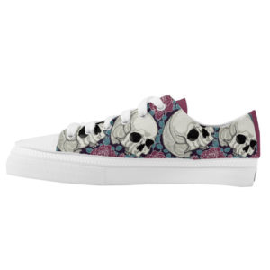 Elliz Clothing Skull Roses Low-top skater girl Sneakers