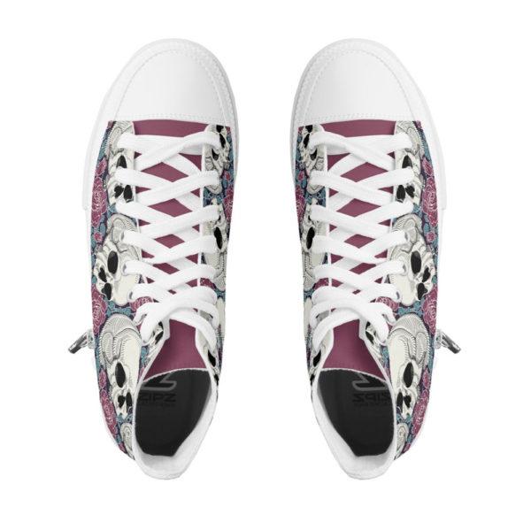 Elliz Clothing Skulls Roses high-top Sneakers