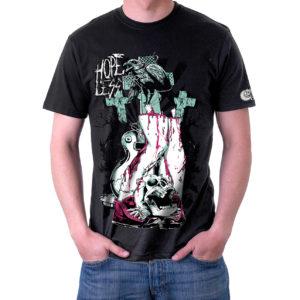 Hopeless Zumbi Camiseta Estampada Unissex